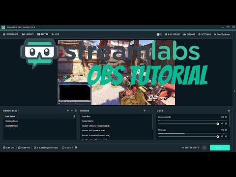 """How to setup streamlabs obs"" - SLOBS setup Follower/donation/subscriber alerts and overlays"