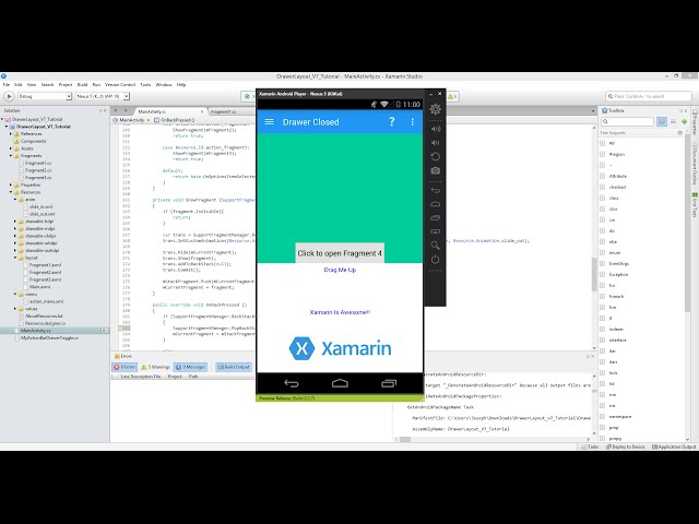 Xamarin Android Tutorial   59   Touch Listener for FrameLayout