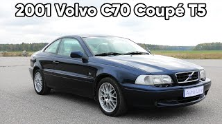 2001 Volvo C70 Coupé T5 2.3 Turbo In-Depth Tour (4K) | Start Up, Exhaust, Exterior, Interior
