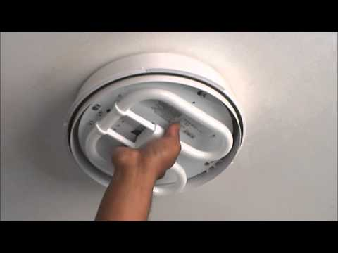 Bathroom Ceiling Light Removal city south knowhow: changing a bathroom light - youtube
