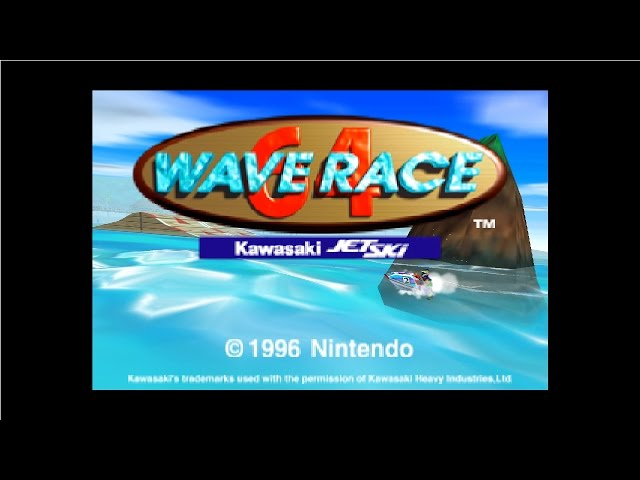 Wave Race 64 - Complete 100% Longplay - All Championships (Walkthrough)
