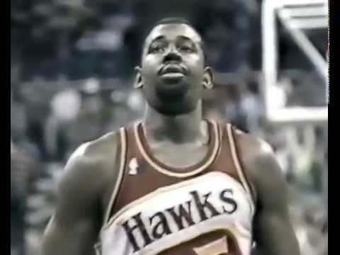 1987-88 NBA r.s Atlanta Hawks-Dallas Mavericks(second half)