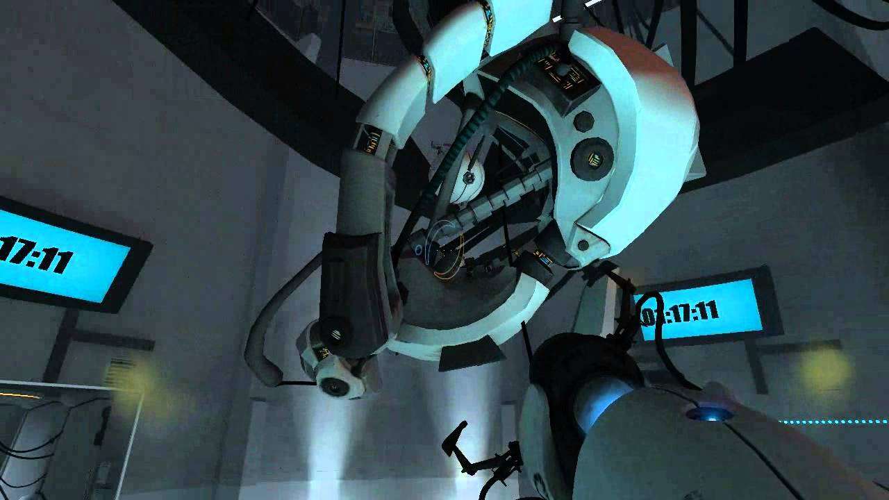 Portal 1 Classic Playthrough Part 10 Glados Boss Fight -5920