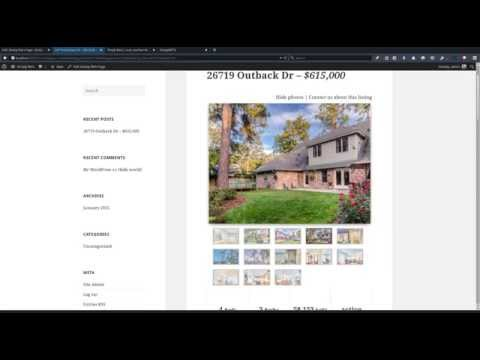 RETS/IDX Listings on your Wordpress site in under 5 minutes