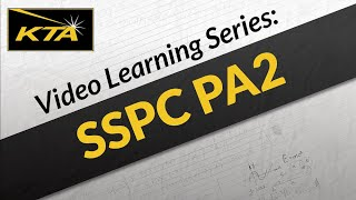 KTA Video Learning Series: SSPC PA2