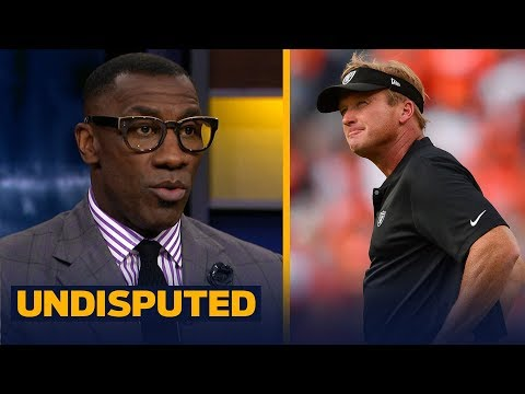 Skip and Shannon talk Jon Gruden and the Oakland Raiders\' pass rush | NFL | UNDISPUTED