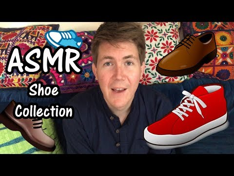 ASMR YouTube Roleplay 👟😊Giving away my shoe collection!!😊👟
