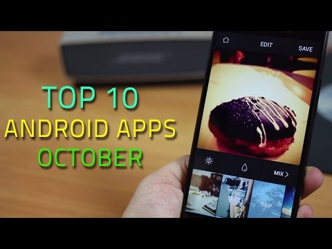 Top 10 Best Apps For Android 2014 (October)