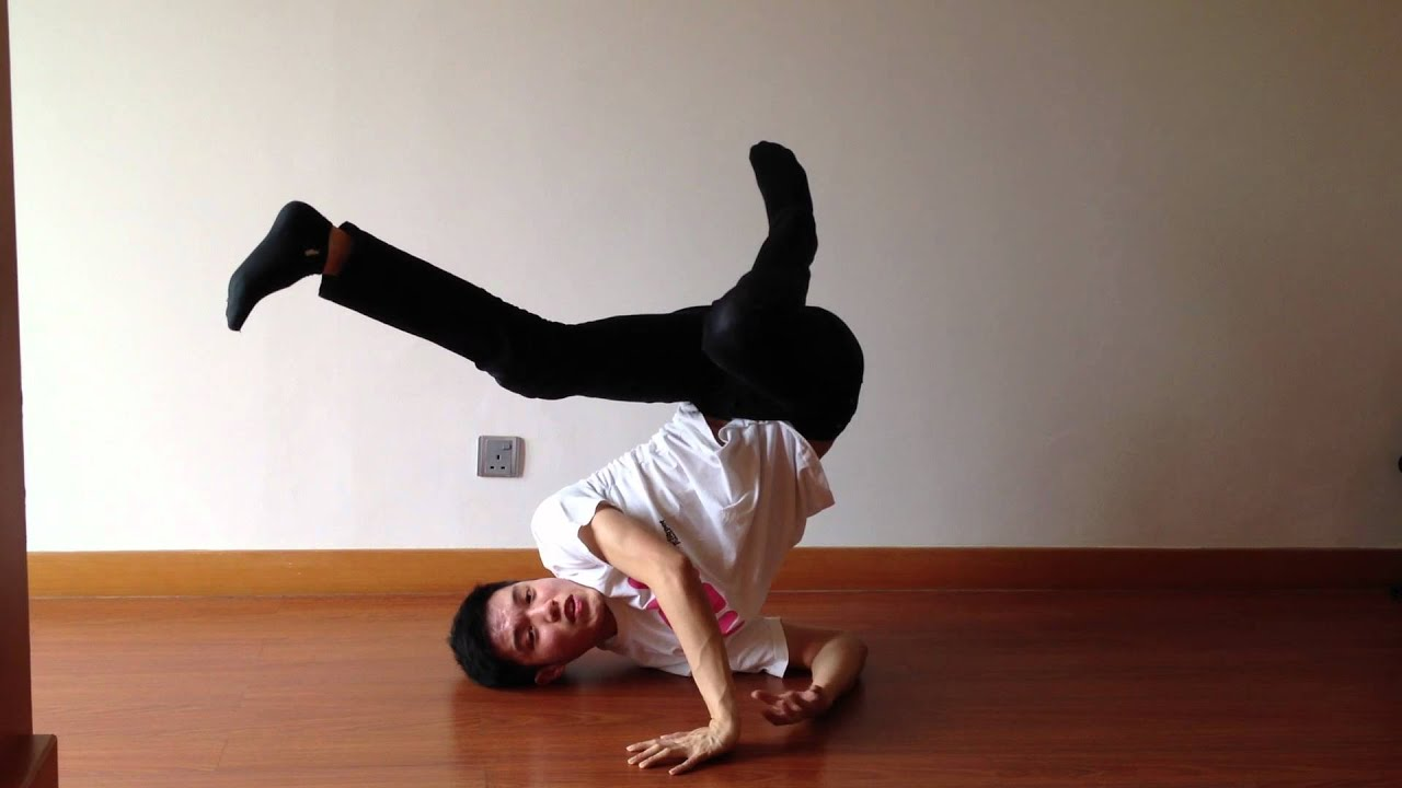 How to Do a Shoulder Freeze - Breakdance Tutorial - YouTube