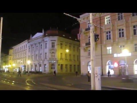 3 Croatia Travel, Zagreb Ban Jelacic Square Tram 크로아티아 자그레브 반엘라치치광장 트램