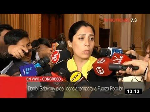 """Vocera de Fuerza Popular, Úrsula Letona, tras poner su cargo a disposición: """"Yo no me aferro"""""""