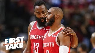 Download Chris Paul should be traded if the Rockets are 'open for business' - Max Kellerman | First Take Mp3 and Videos