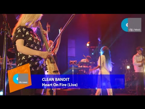 Download Music Video | Clean Bandit - Heart On Fire
