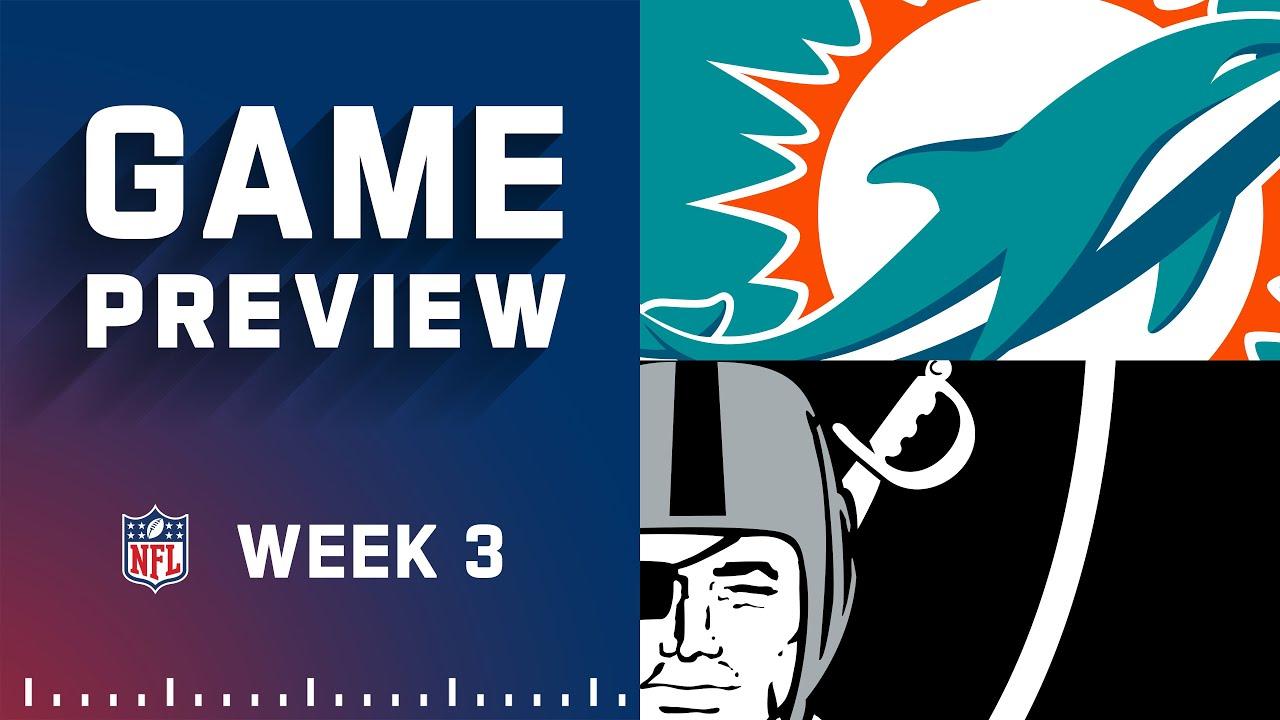 Download Miami Dolphins vs. Las Vegas Raiders | Week 3 NFL Game Preview