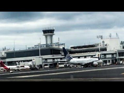 Arriving At El Salvador Airport 🇸🇻 November 2019