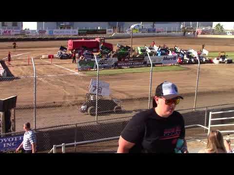 CA Speedweek, Delta Speedway - Micro 600R Qualifying (Carson Borden) - June 27, 2018