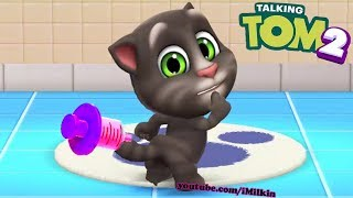 Download Lagu My Talking Tom 2 - Level 3 - NEW GAME Space Trails Highscore - Gameplay #4 (Android iOS) mp3