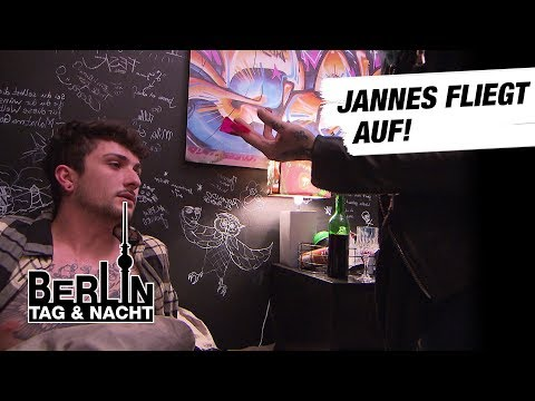 Berlin - Tag & Nacht - Jannes fliegt auf! #1689 - RTL II