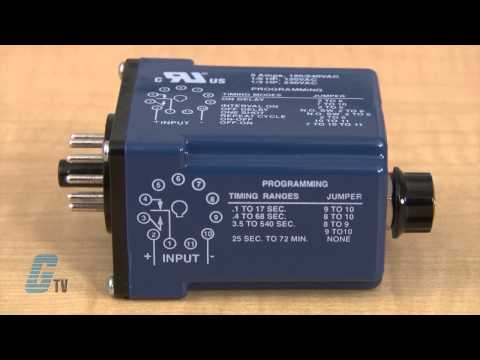 RK Electronics TUB Series Timing Relays