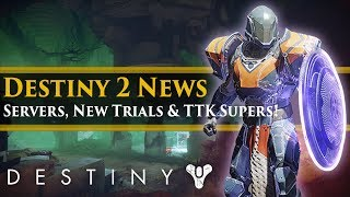 Destiny 2 - Bungie & Dedicated Servers New Trials? Nightstalker, Sunbreaker & Stormcaller?