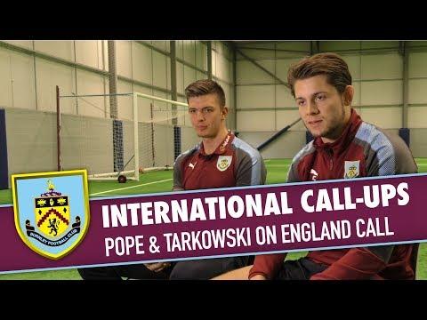 INTERNATIONAL | Pope & Tarkowski On England Call