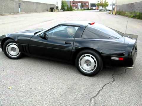 Corvette Convertible For Sale >> Corvette 87 targa C4 stock 4+3 - YouTube
