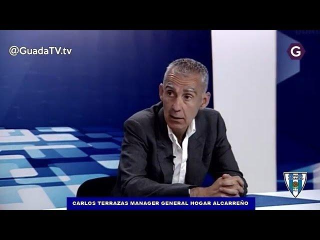 ENTREVISTA  A CARLOS TERRAZAS MANAGER DEL HOGAR ALCARREÑO EN GUADATV