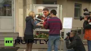 Russia: News chief says Ukrainian authorities knew about Stenin