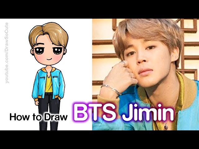 How To Draw Jimin Bts Youtubedownload Pro