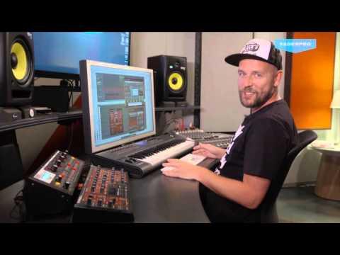 Sander Kleinenberg's Production Process of Wanna Come Down.