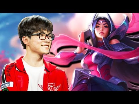 Why Is Faker Spamming Irelia Mid In Korean Challenger?