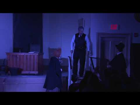 """A Christmas Carol"" performed by Theatre at the Grange"
