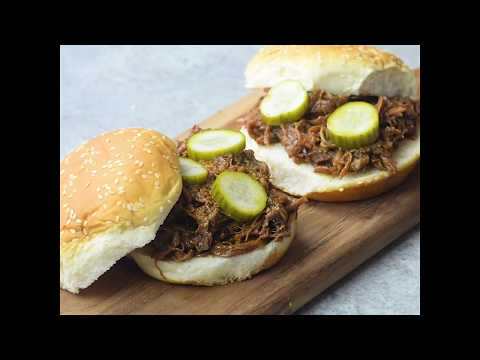 Slow Cooker Shredded Barbecue Beef