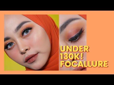 one-brand-tutorial-focallure---sunset-glam-makeup-look