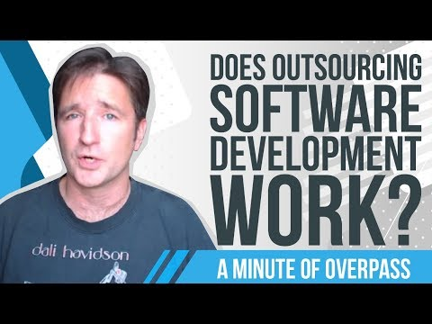 Does Outsourcing Software Development Work?  A Minute of Overpass : The App Coders in England