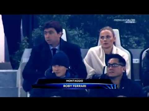 Andrea Agnelli and Zidane - Juventus vs chelsea 3-0