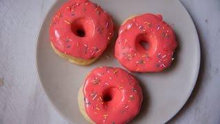 Пончики в духовке | Простой рецепт