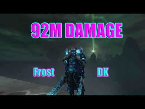 Frost DK/Resto Sham Rated 2s- 92 Million Damage! (WoW 7.3.2 Legion PVP)