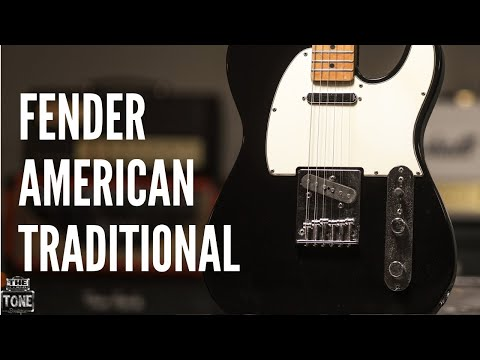Fender Telecaster American Traditional - The Tone Boutique Demos
