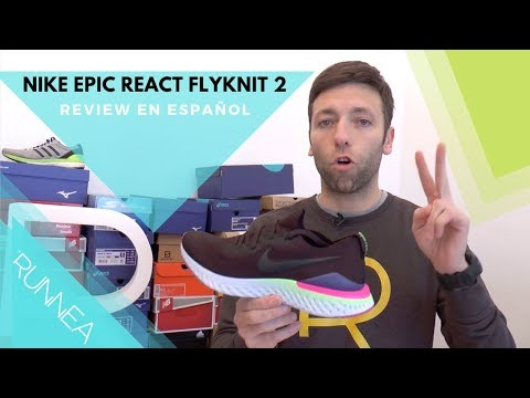 Nike Epic React Flyknit 2: Review en español