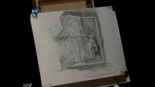 Уроки рисования (№ 19) карандашом. Рисуем