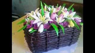Сладкое хобби моей дочки Ирины(Оригинальные заказные торты ручной работы. Нежные свадебные торты, строгие мужские торты, сказочные торты..., 2012-05-12T19:39:26.000Z)