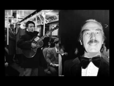 Audio of Woody Guthrie singing about Fred Trump