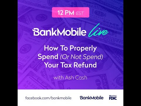 Money Mondays Ep52 – How to Properly Spend (or Not Spend) Your Tax Refund