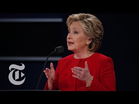 Fact-Checking The First Presidential Debate | Election 2016 | The New York Times