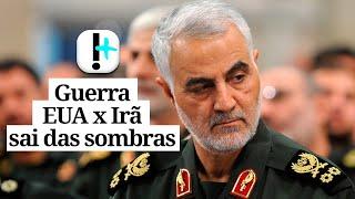 Guerra EUA x Irã sai das sombras