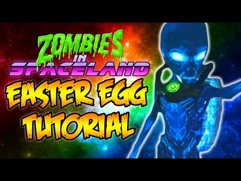 INFINITE WARFARE ZOMBIES - FULL EASTER EGG TUTORIAL GUIDE WALKTHROUGH (ZOMBIES IN SPACELAND)