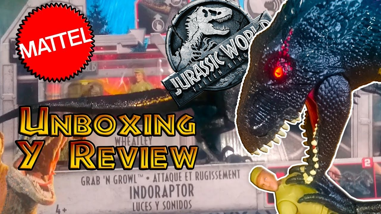 Electrónicounboxing Y Reviewen Kingdom El World Indoraptor Fallen EspañaJurassic 0P8wkOn