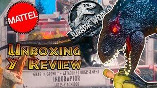 El Indoraptor Electrónico!! Unboxing y Review (en España) Jurassic World 2