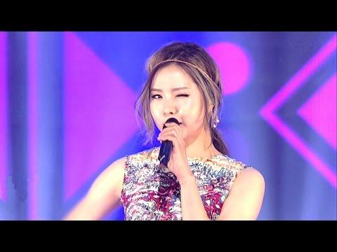 Kim Kim (Lim Kim) - Awoo @ Lagu Populer Inkigayo 20150524